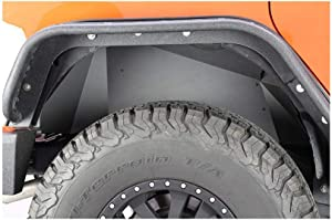 Fishbone Offroad FB33007R Jeep Rear Inner Fenders 07-18 Wrangler JK Aluminum Black Powercoat