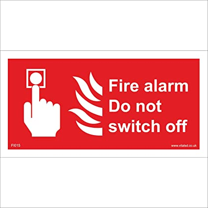 Signo de fuego fi015 alarma contra incendios no switch off ...
