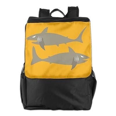 Shark-design-logo-cartoon Bag,Backpack,hiking-daypacks 60%OFF