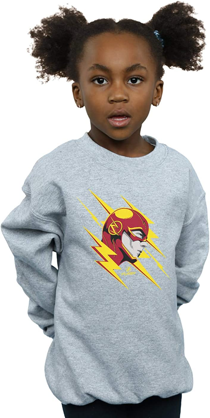 DC Comics Girls The Flash Lightning Portrait Sweatshirt