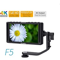 Feel Wolrd F5 - Monitor de Campo para cámara réflex Digital IPS Full HD 1920 x 1080 Compatible con Entrada HDMI 4K y Potencia de Brazo inclinable