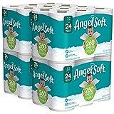 Angel Soft Papel Higiénico, 48 Rollos Dobles , 12 Piezas ( 4 piezas)