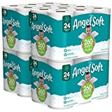 : Angel Soft 2 Ply Toilet Paper, 48 Double Bath Tissue (Pack of 4 with 12 rolls each)