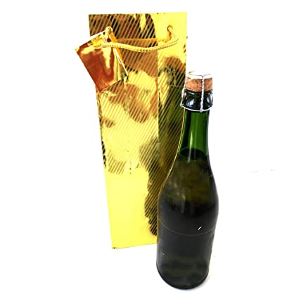 Extiff - Lote de 10 Bolsas de Regalo para Botellas de Vino y ...