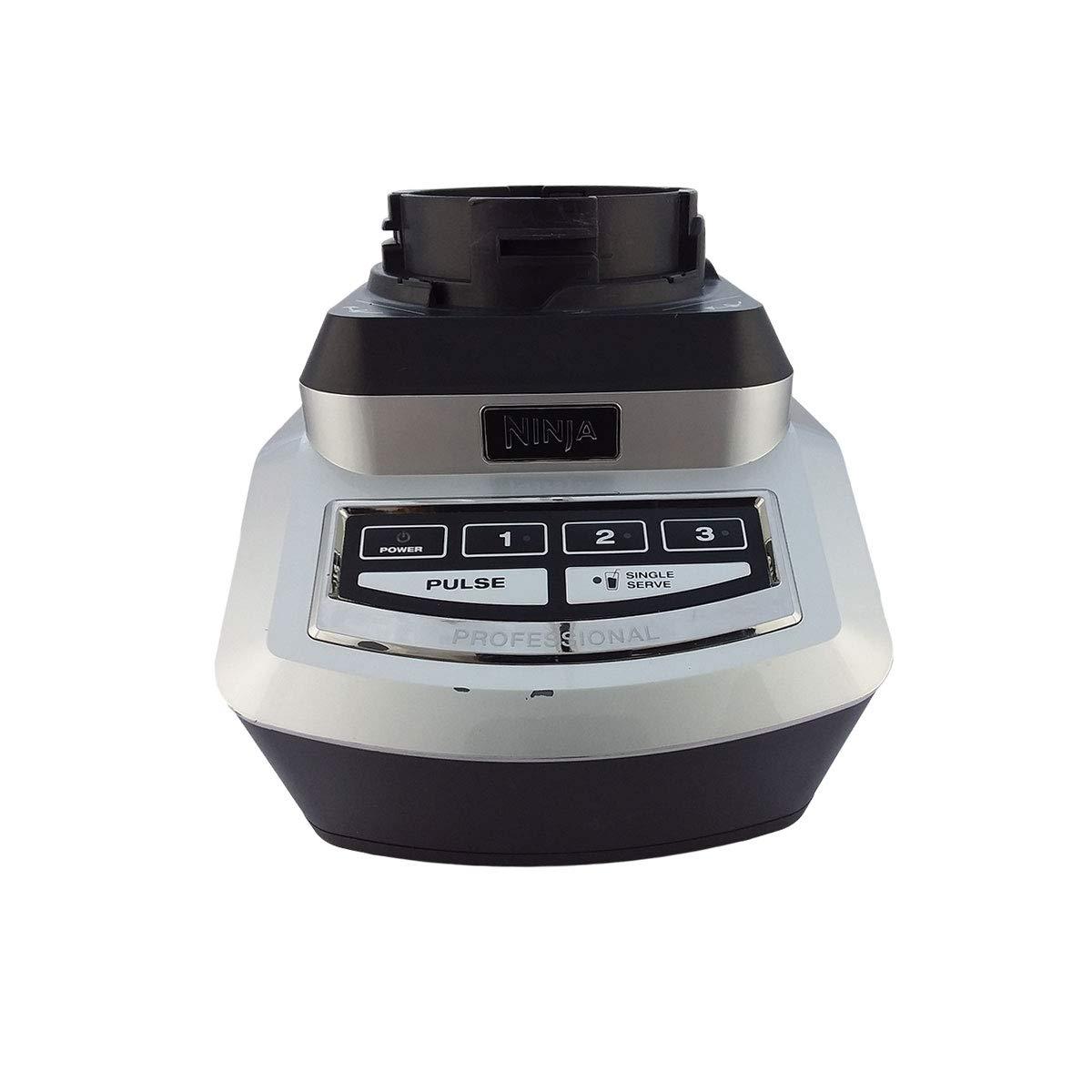 OEM BL740 Ninja Professional Blender & Nutri Ninja 1100 Watt Base 6 fin Gear for 16oz Tritan Cups 72oz XL Pitcher (Certified Refurbished)