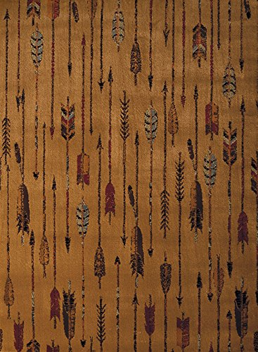 United Weavers of America Affinity Quilted Arrow Rug - 1ft. 10in. x 3ft. Natural Southwestern Area Rug with Jute Backing