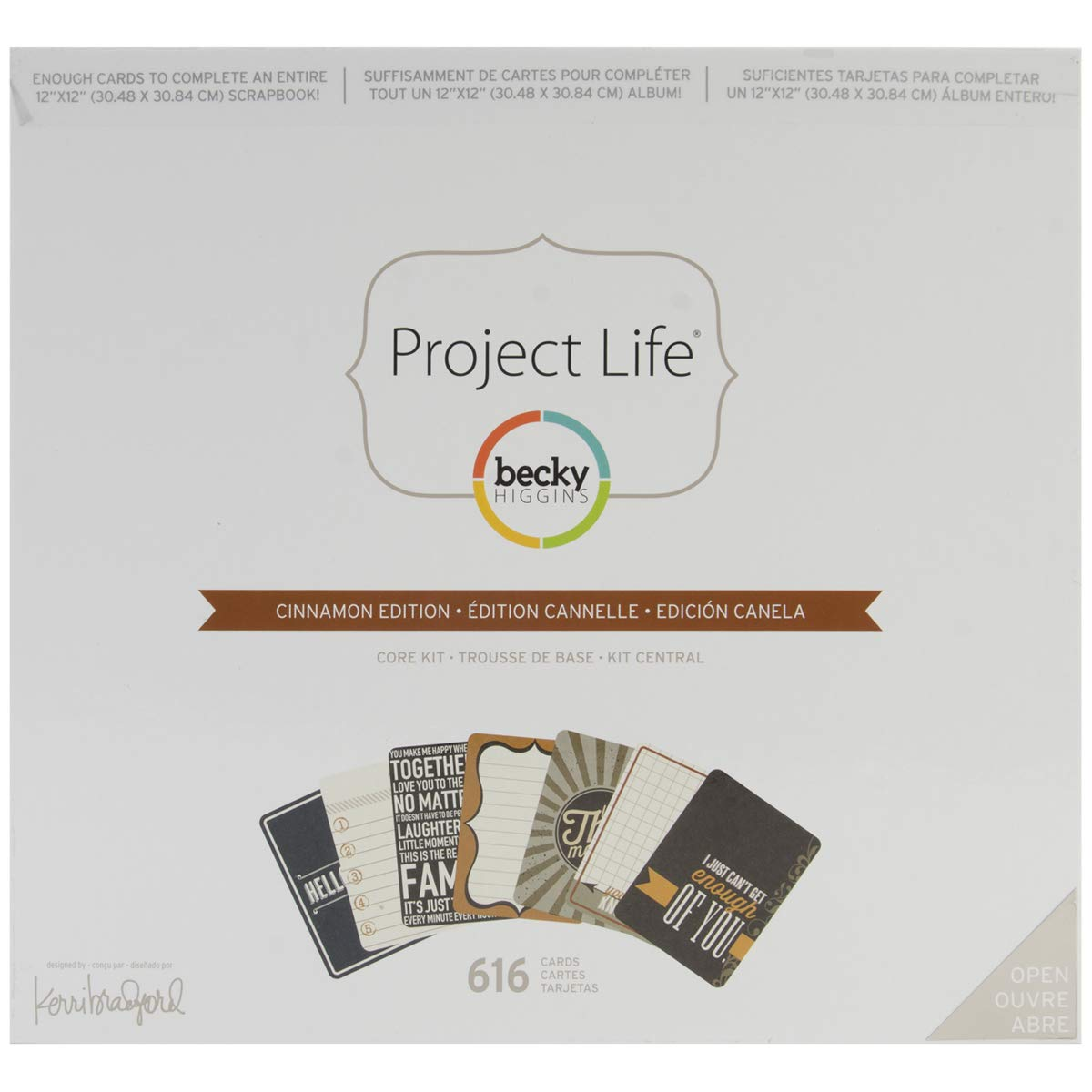Project Life Core Kit - Cinnamon Edition