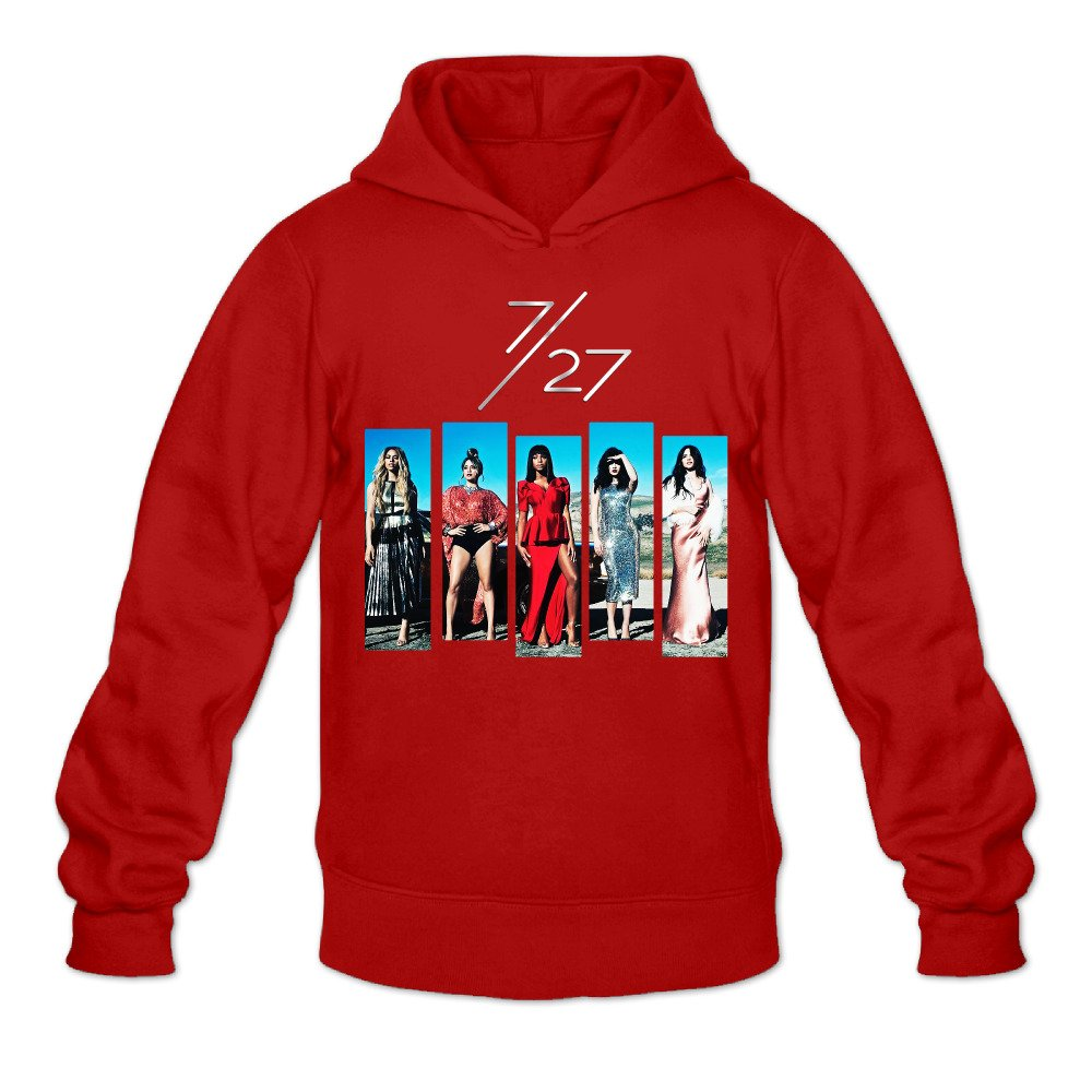 Caili Mens Fifth Harmony 7//27 Album Logo Hoodies Sweatshirts