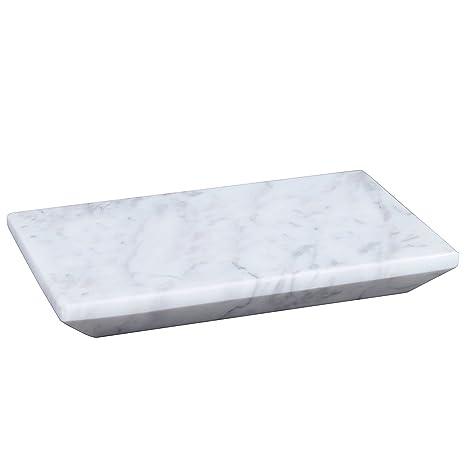Amazon.com: Piedra de mármol jabonera accesorios de baño ...