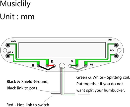 Parallel Wiring Diagram Hot Rail Neck