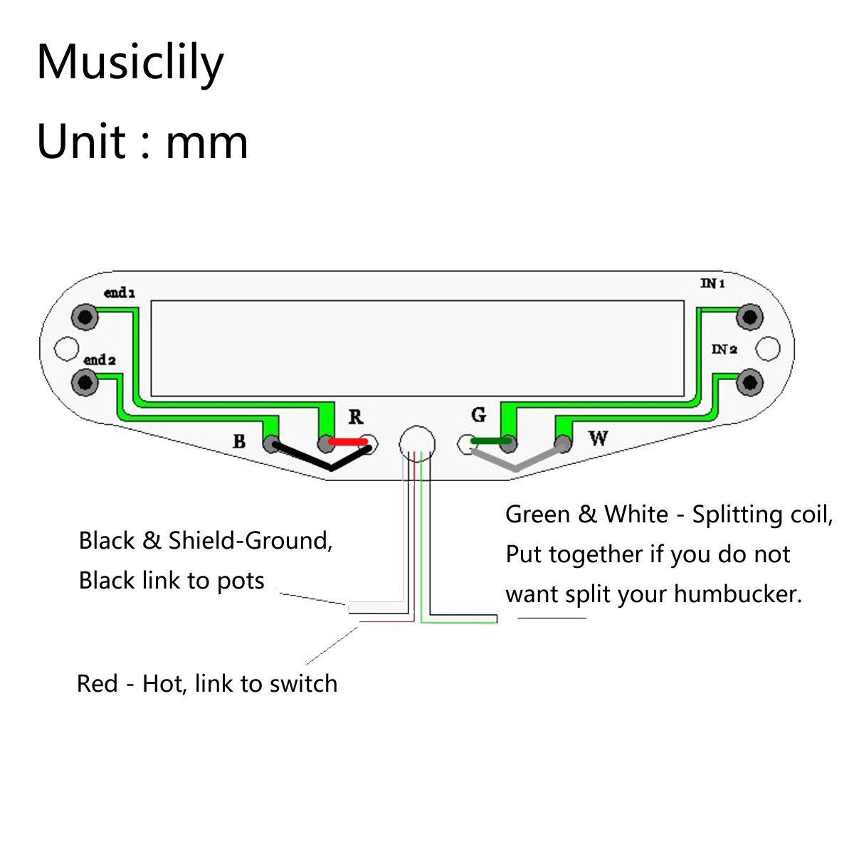 61ERnkCDMWL._SL1200_ amazon com musiclily dual hot rail blaster humbucker guitar  at crackthecode.co