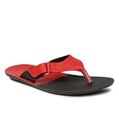 a92019b63a6 PARAGON Vertex Men's Red Flip-Flops: Buy Online at Low Prices in ...