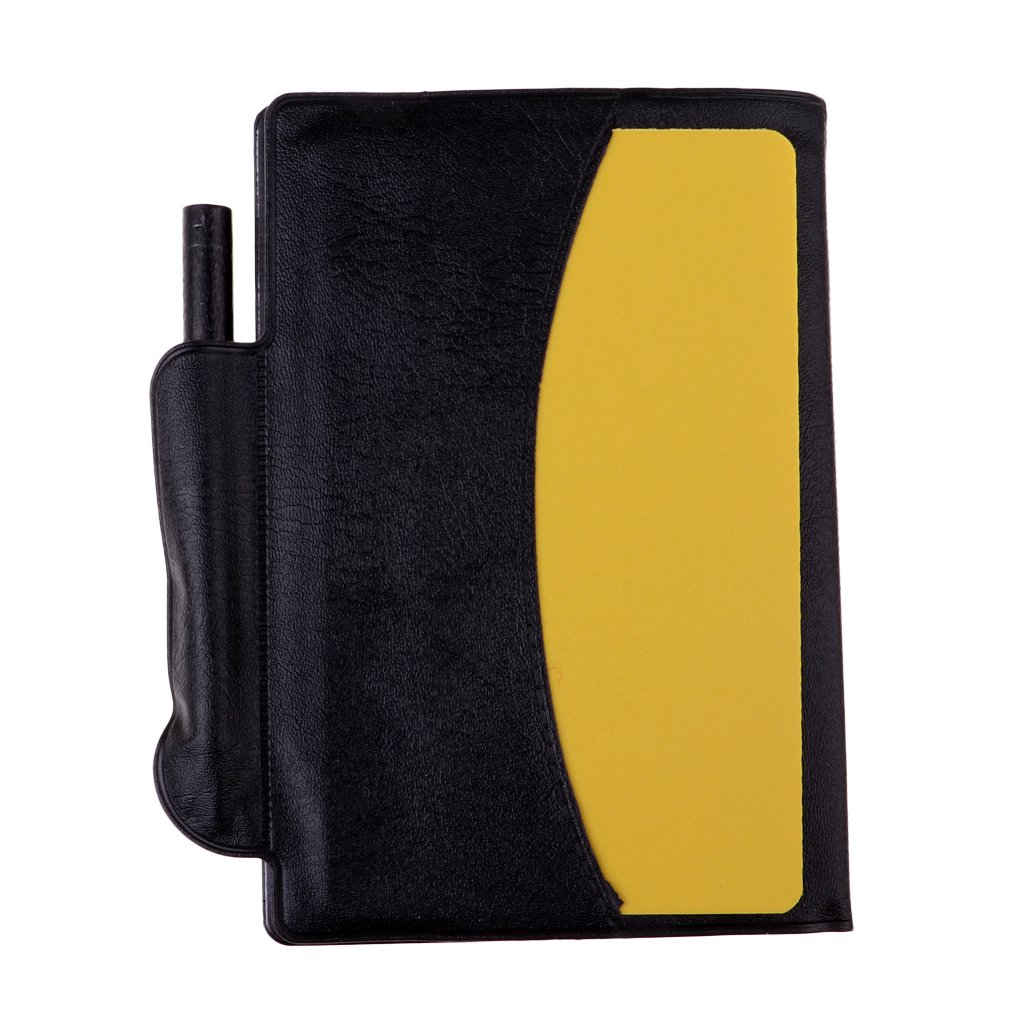 D DOLITY Referee Warning Penalty Card Wallet Notebook Booklet with Score Sheet Pad /& Pencil