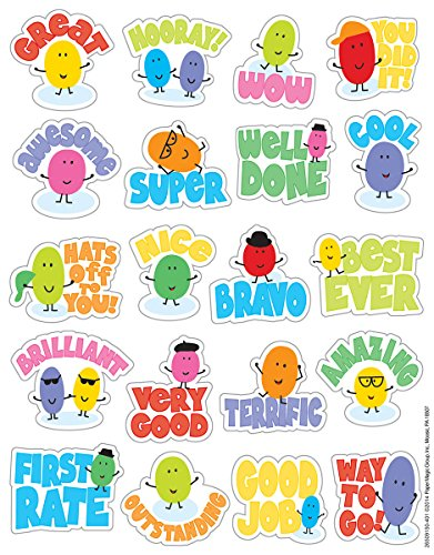 Eureka Jelly Beans Stickers, Scented (650915)