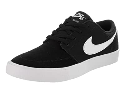competitive price a2978 9cb62 Nike SB Portmore II (Kids) Cool Grey White
