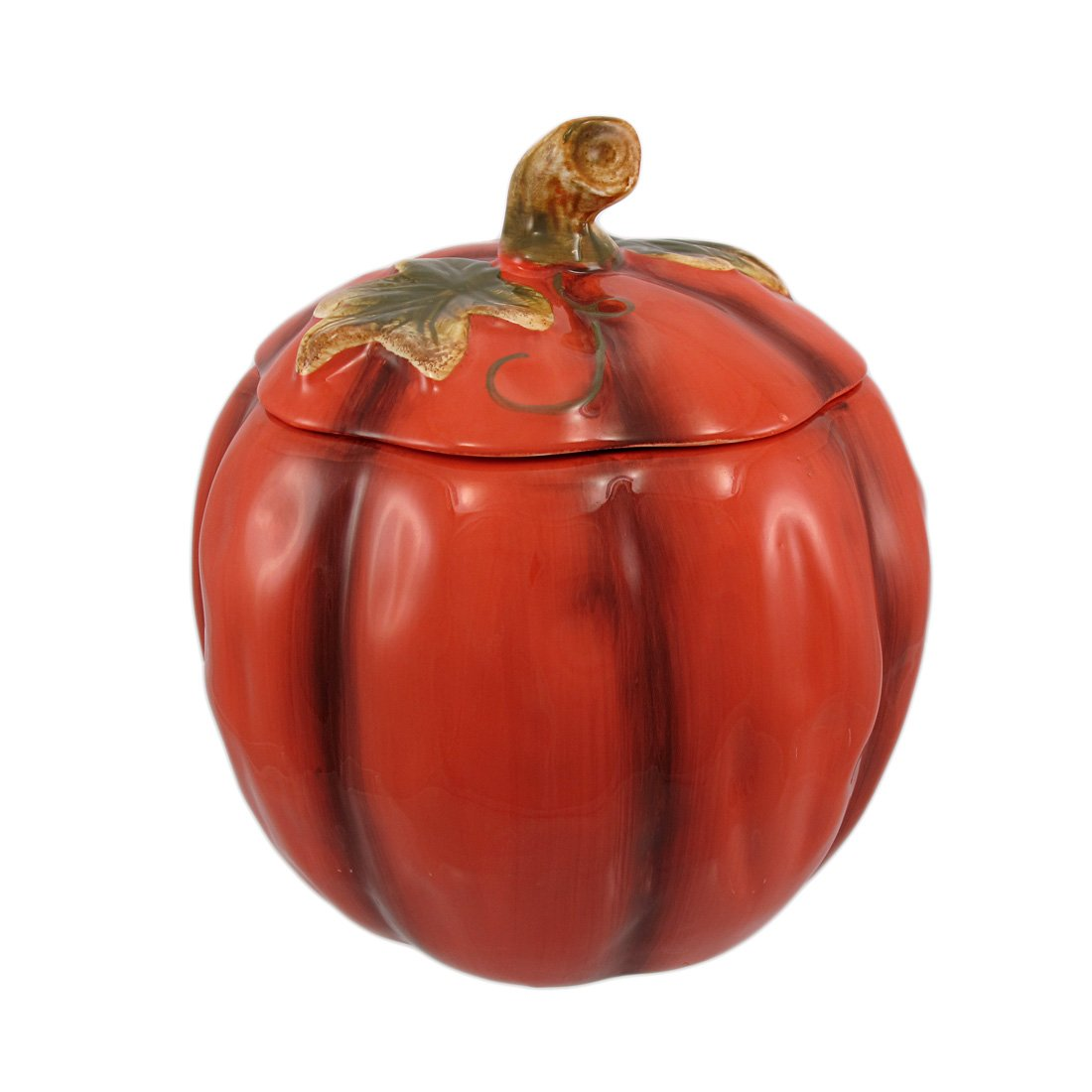 Amazoncom Ceramic Pumpkin Cookie Jar Halloween Cookie Jar