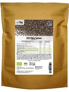 Semillas de Chia Orgánico - 1KG - Salvia hispanica: Amazon.es ...