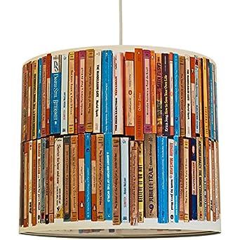 anna wand Lampenschirm BOOKS – Schirm für Lampe mit Bücher-Motiv ...