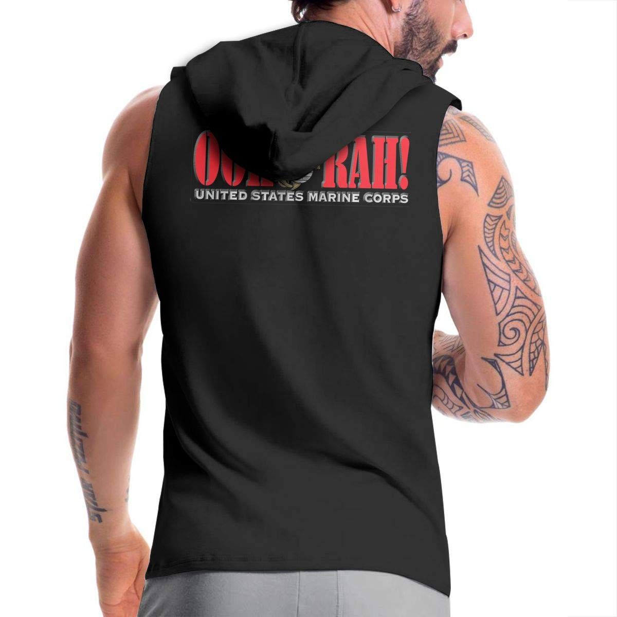 NMBOJR OOH RAH US Marine Corps Mens Hipster Hip Hop Hoodies Shirts
