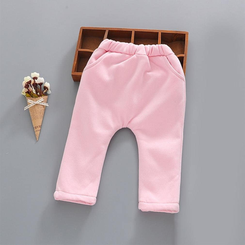 Warm Cute Baby Trousers,Unisex Fashion Velvet Animal Long Thicker Pants