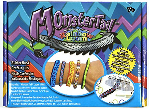 (Rainbow Loom Monster Tail [Makes the Popular Hexafish)