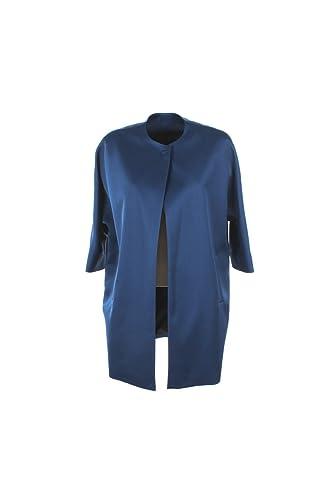 Spolverino Donna Mood 50 Blu Anita Mikado Primavera Estate 2017
