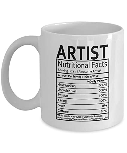 amazon com coffee mugs for artists artistic gifts artistic