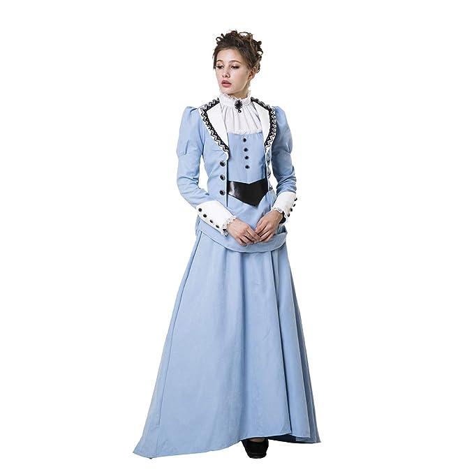 Amazon.com: HGM - Disfraz de mujer victoriana occidental ...