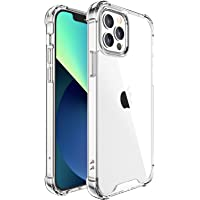 Cedar Case Compatible with iPhone 13 Pro 6.1-Inch, Non-Yellowing, Shockproof Protective Case, HD Clear