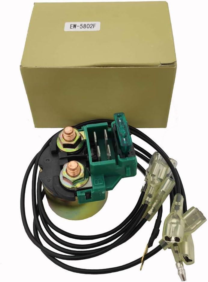 35850-MB0-007 35850-MT8-003 35850-425-017 35850-KR0-007 35850-MF5-751 Replace Starter Solenoid Relay for Honda GL1100 GL1200 Goldwing Interstate 1200 1984 1985 1986 1987//35850-MK3-671