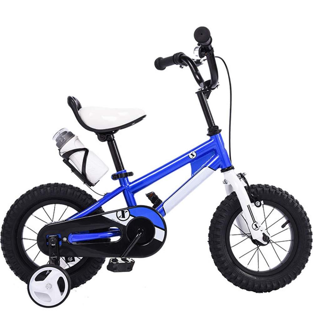 alta calidad y envío rápido Azul 16in Axdwfd Infantiles Bicicletas Bicicletas para para para niños Bicicletas para niños 12 16 pulg. Ciclismo para niños y niñas, Adecuado para niños de 2 a 8 años, Azul verde Amarillo Rojo  bienvenido a elegir