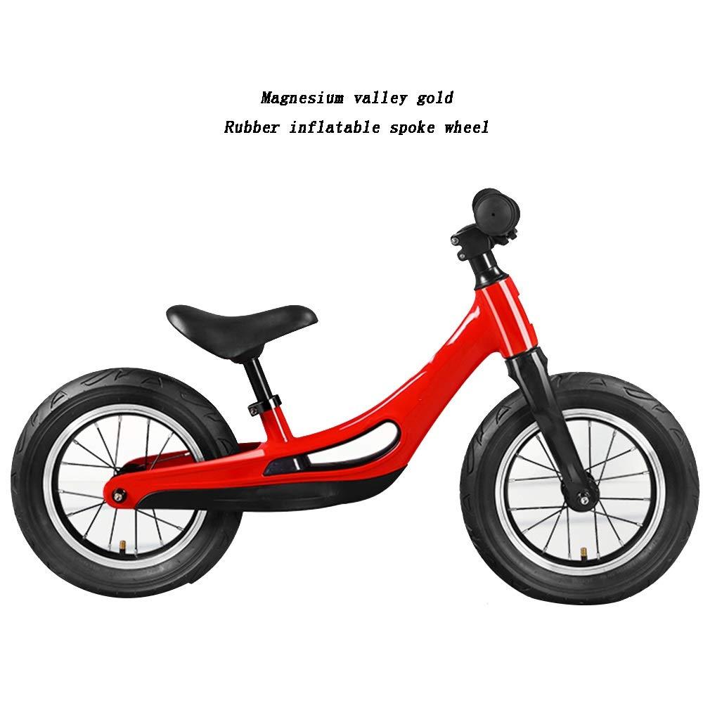 moda rojo YUMEIGE Bicicletas sin Pedales Pedales Pedales Garçon fille Draisiennes Avec assise en Acier Cochebone réglable Draisienne Enfants pour Enfants de 2 à 6 an (Color   rojo)  ¡no ser extrañado!