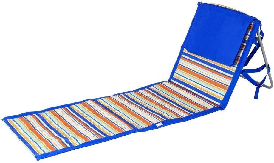 Beaches /& Bonfires 91288.0 On The Go Portable Beach Reclining Lounger Renewed