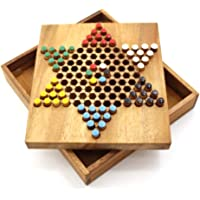 MindSapling Chinese Checkers Wooden Game