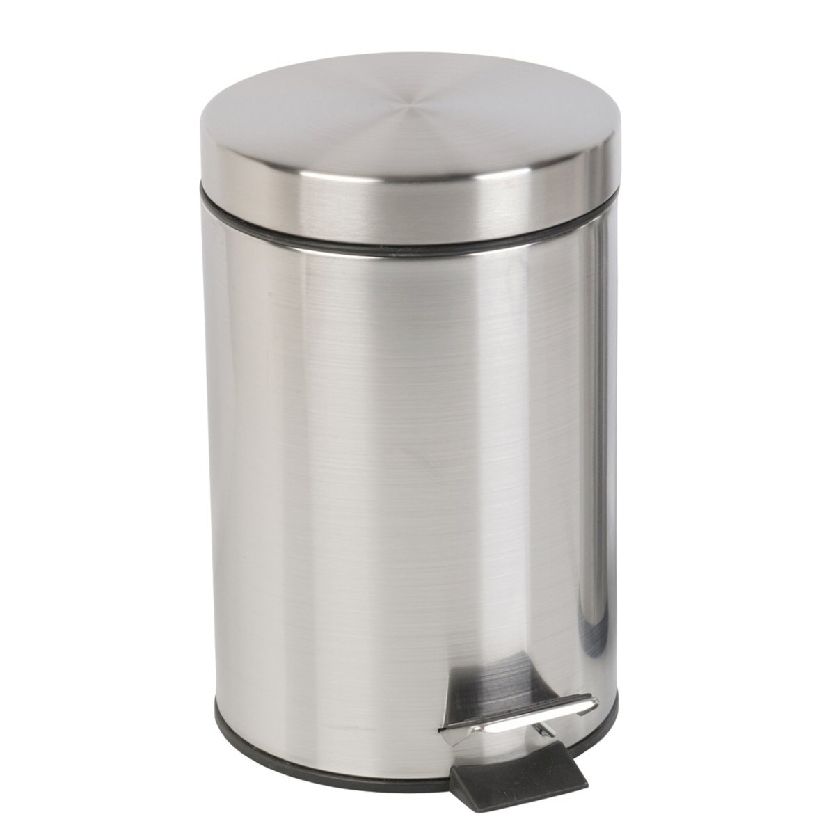 Bathroom Pedal Bin Stainless Steel Chrome Finish