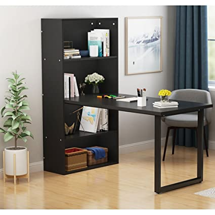 LITTLE TREE Modern Stylish Hobby Desk, Annexe Collection Work Table And Storage  Unit Combo For