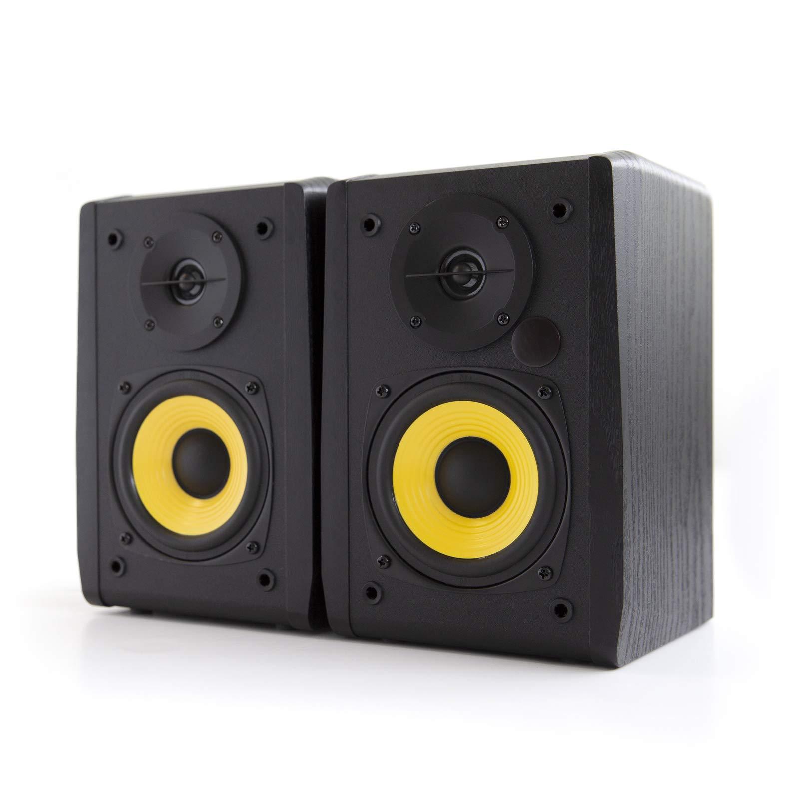 Edifier R1010BT 4'' Active Bluetooth Bookshelf Speakers - 2.0 Computer Speaker - Powered Studio Monitor (Pair) by Edifier
