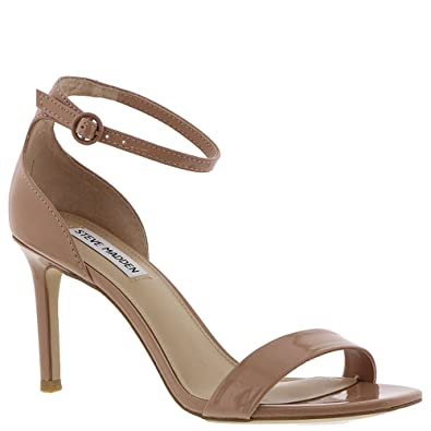 a04fbf430be Steve Madden Womens Fame Leather Open Toe Casual Ankle, Blush Patent, Size  7.5 US