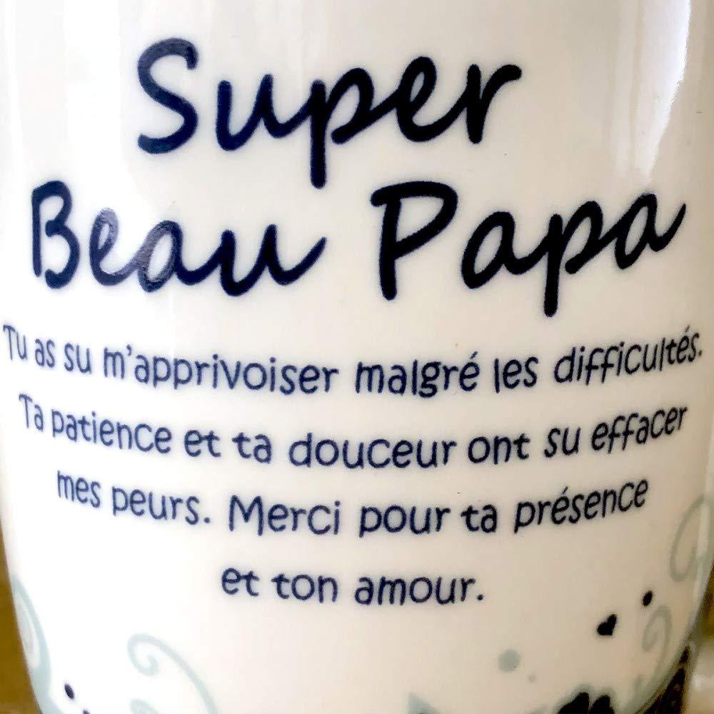 Mug A Offrir Super Beau Papa Amazon Fr Jeux Et Jouets