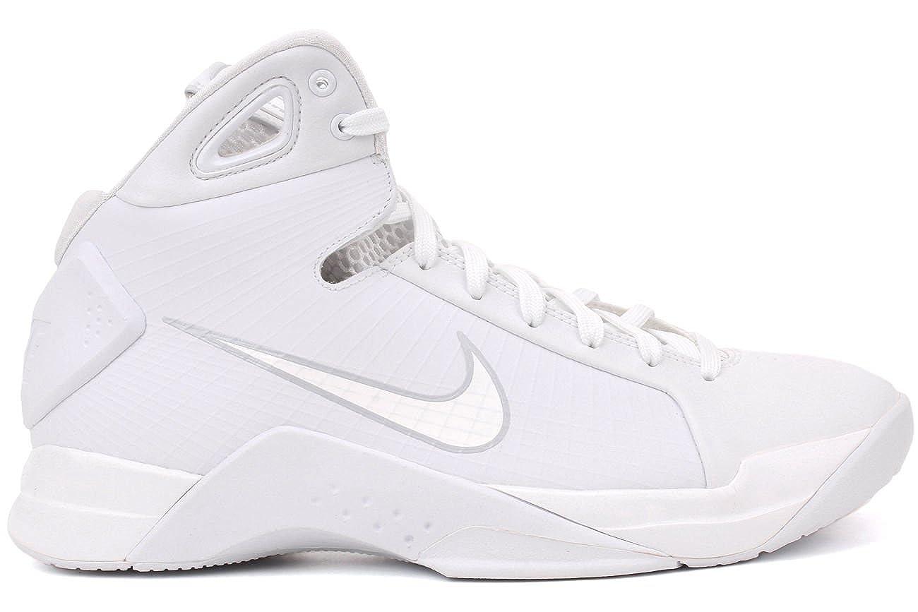 ナイキ(NIKE) HYPERDUNK '08 メンズ バスケットボール 820321-100 White Pure Platinum [並行輸入品] B06XC11PQ1 27.0 cm