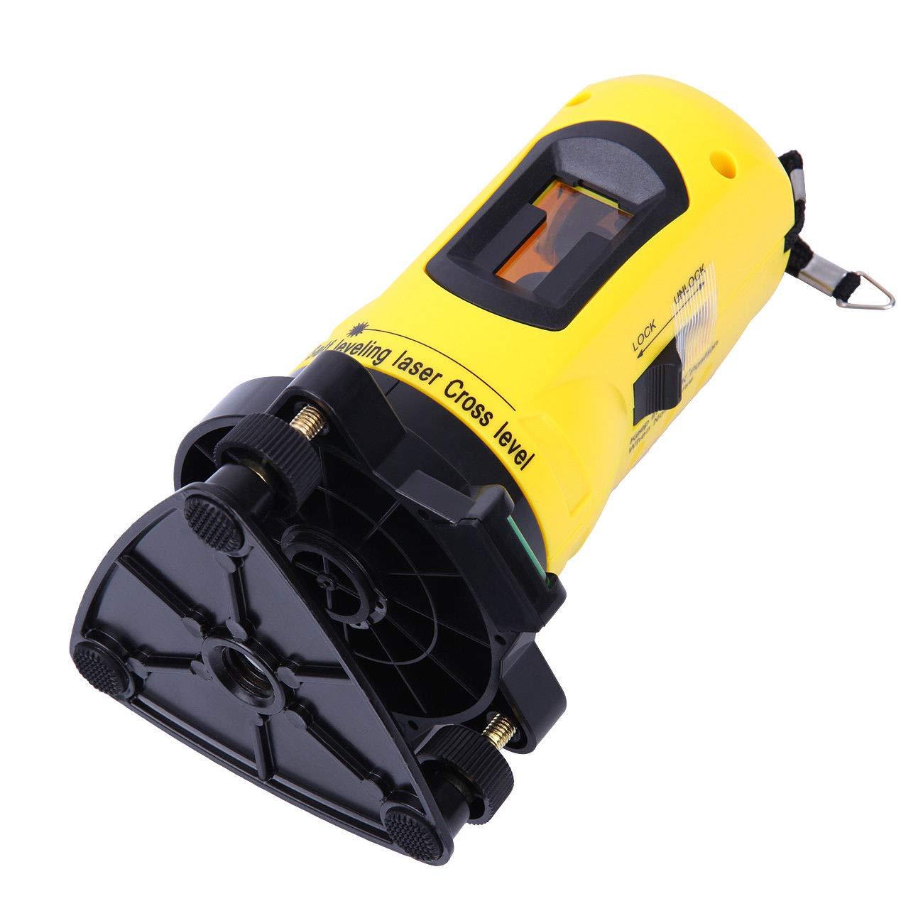 Paneltech Niveau Laser 360 et tr/épied Niveau Laser Croix pour la mesure des angles et surface ligne laser