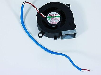 Amazon.com: Sunon MF50201V3-Q000-G99 Cooling Fan 3-Pin 8JC01G011 for NEC U300X Projector: Electronics