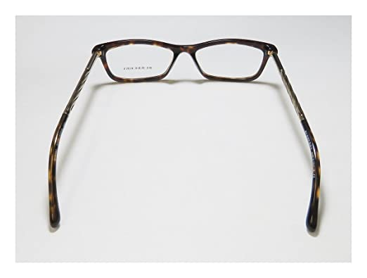 0e624af53f BURBERRY Eyeglasses BE 2190 3002 Dark Havana 52MM  Amazon.in  Clothing    Accessories