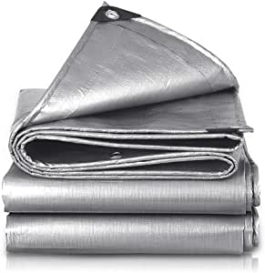 Prosource C1212110 Heavy Duty Poly Tarpaulin with Grommets ...  Large Grommets For Tarps