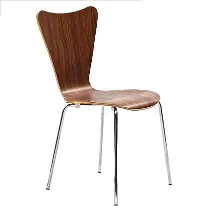 Danish Modern Butterfly Style Chair In Walnut