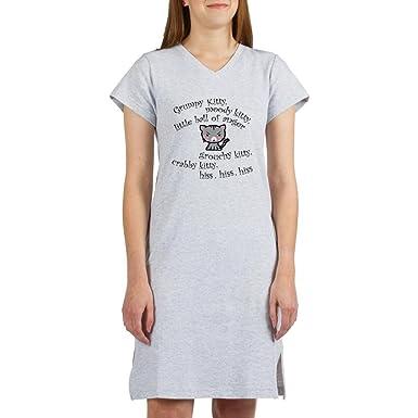 b081448928 Amazon.com  CafePress - Grumpy Kitty Women s Nightshirt - Women s ...