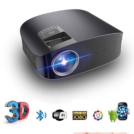 KAIDILA Proyector, YG600 HD Teatro proyector de 3600 lúmenes ...