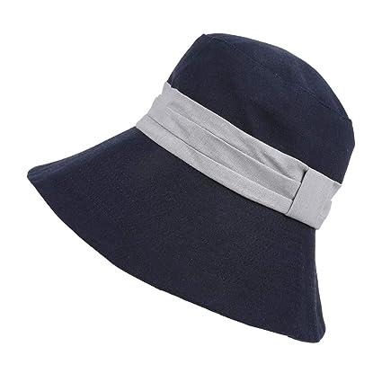 design intemporel dessin de mode thésaurisation comme une denrée rare Kentop Chapeau Bob Chapeau de Soleil Femme Fille Chapeau De ...