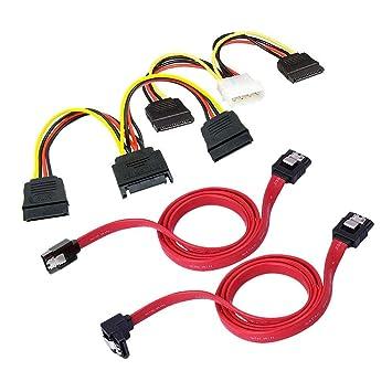 Shootingstar - Cable Divisor y Cable de alimentación (Cable de ...