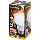 アイリスオーヤマ LED電球 E26 広配光 60形相当 電球色 LDA7L-G-6T6